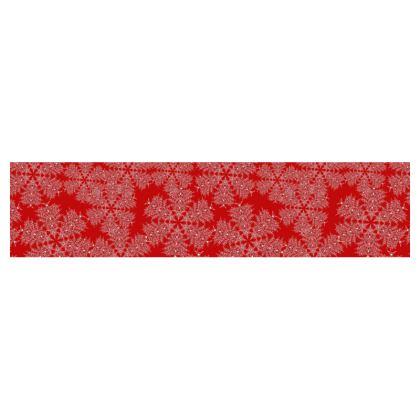 Red Festive Table Runner