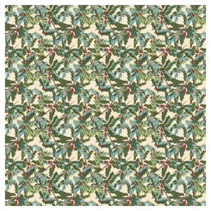 Holly Tablecloth (Cream)