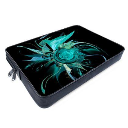 Laptop bags - Datorväska - Turquoise black