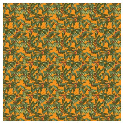 Holly Tablecloth (Bold Yellow)