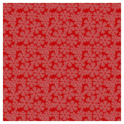 Red Festive Tablecloth