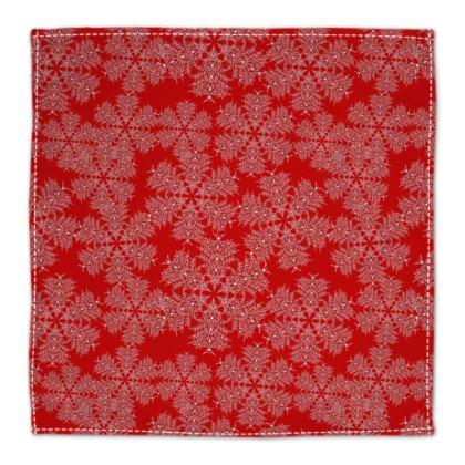 Red Festive Napkins
