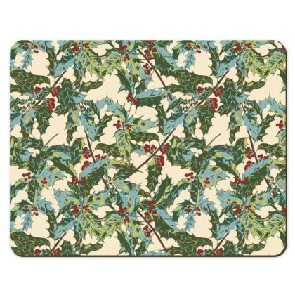 Holly Placemats (Cream)
