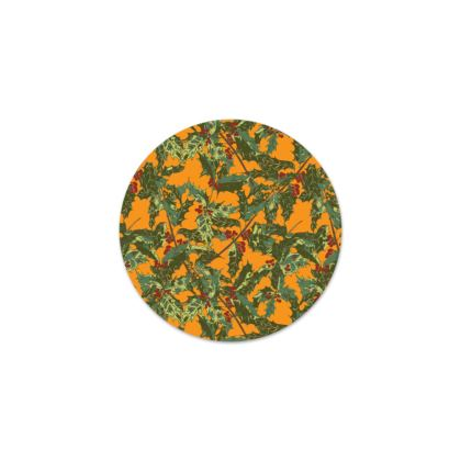 Holly Serving Platter (Bold Yellow)