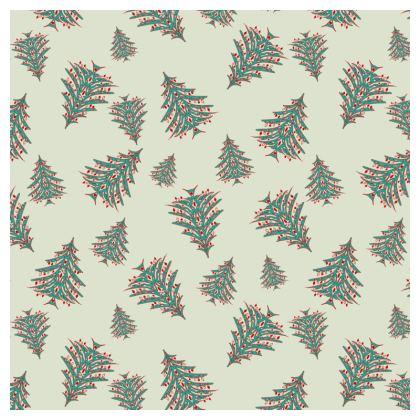 Tiny Trees Serving Platter (White)