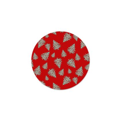Tiny Trees Serving Platter (Red)