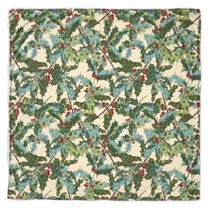 Holly Throw Blanket (Cream)