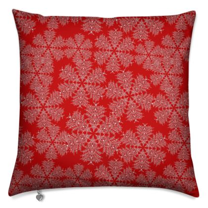 Red Festive Cushion
