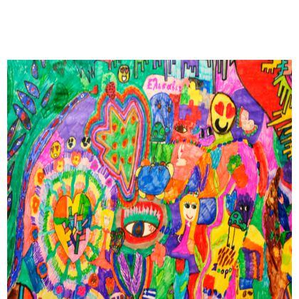 Pop Art Colorful City by Elisavet Kika Tote