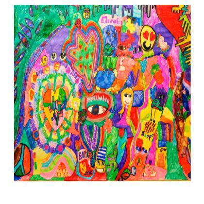 Pop Art Colorful City by Elisavet Slip Dress