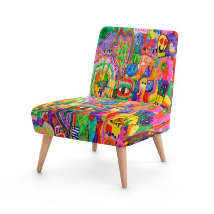 Pop Art Colorful City by Elisavet Occasional Chair