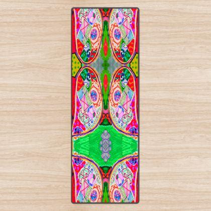 Pop Art Butterfly by Elisavet Yoga Mat