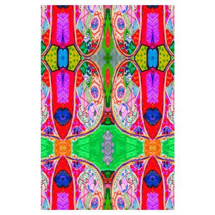 Pop Art Butterfly by Elisavet Slip Dress