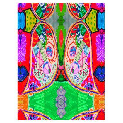 Pop Art Butterfly by Elisavet Suitcase