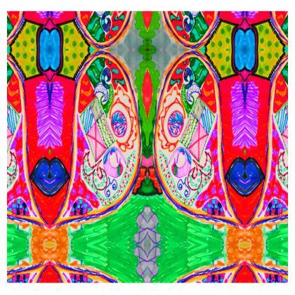 Pop Art Butterfly by Elisavet All Over Print T-Shirt