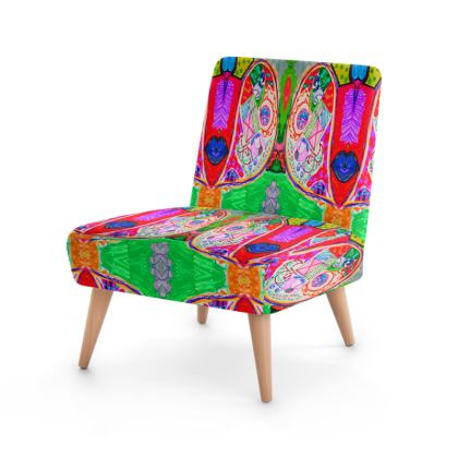 Pop Art Butterfly by Elisavet Occasional Chair