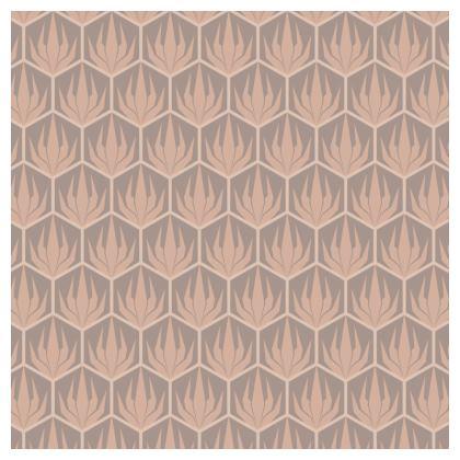Palm Deco Pattern ~ DESERT OASIS China Plate