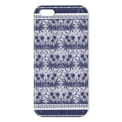 Singing Birds Collection - Indigo - iPhone X Case