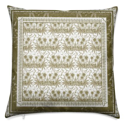 Singing Bird Collection - Sand - Luxury Cushion