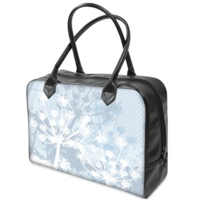 Holdall (Small) - White Florals