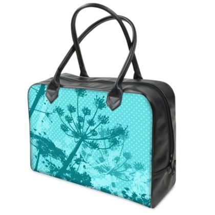Holdall (Small) - Aqua Florals