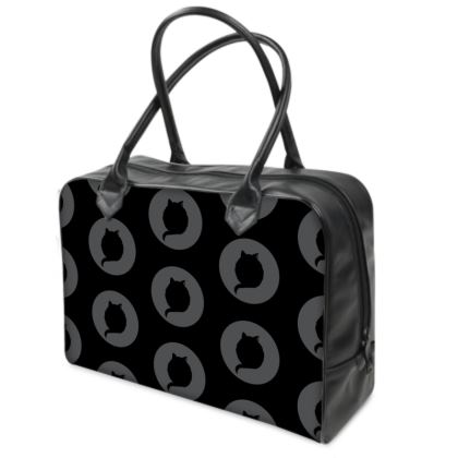 Holdall (Small) - CAT Logo in BLACK