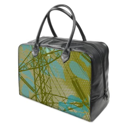Holdall (Large) - Green Florals