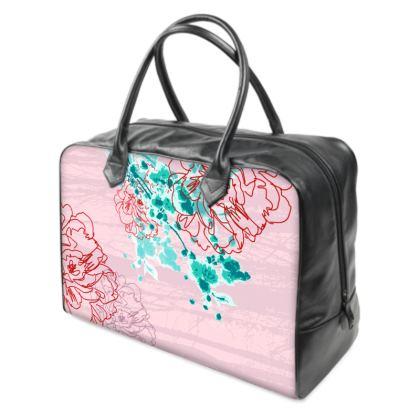 Holdall (Large) - Pink Florals