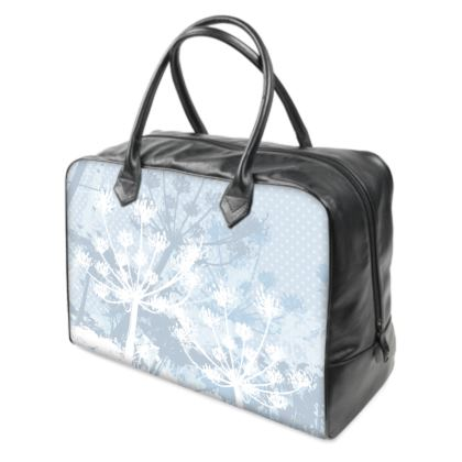 Holdall (Large) - White Florals