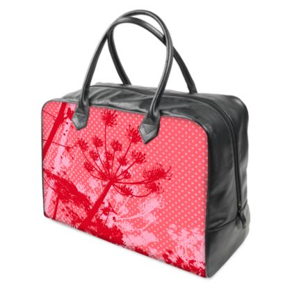 Holdall (Large) - Red Florals
