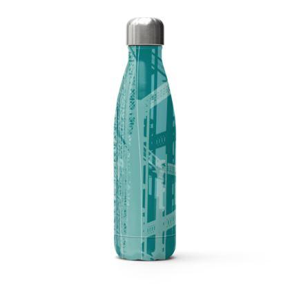 Stainless Steel Bottle - Gasholders Aqua