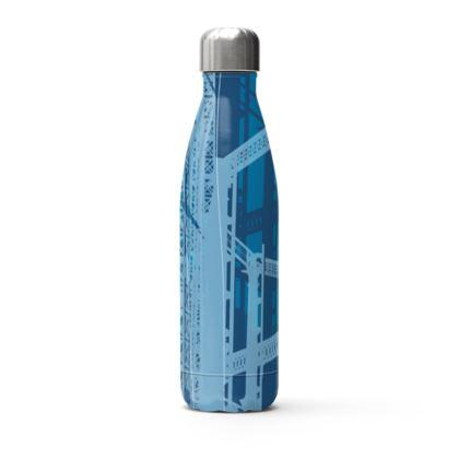 Stainless Steel Bottle - Gasholders Blue