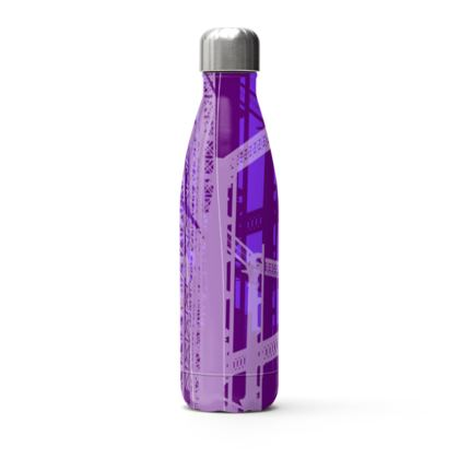Stainless Steel Bottle - Gasholders Purple