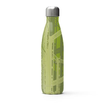 Stainless Steel Bottle - Gasholders green