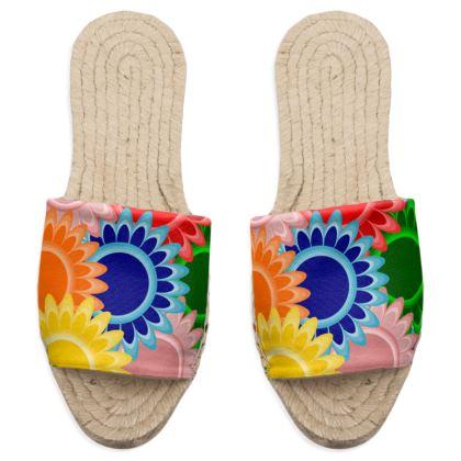 Espadrilles Sandals Floral
