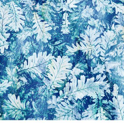Forest Floor, Aquamarine - Leather Handbags