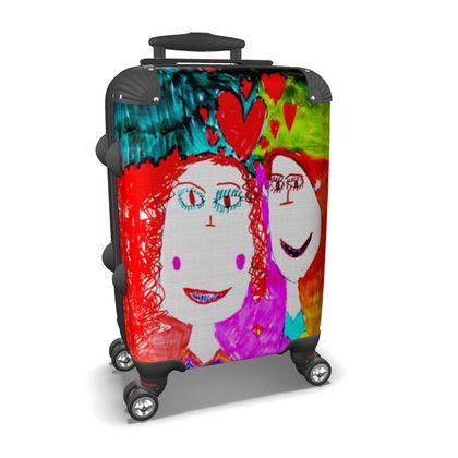 Pop Art Kids Love by Elisavet Suitcase