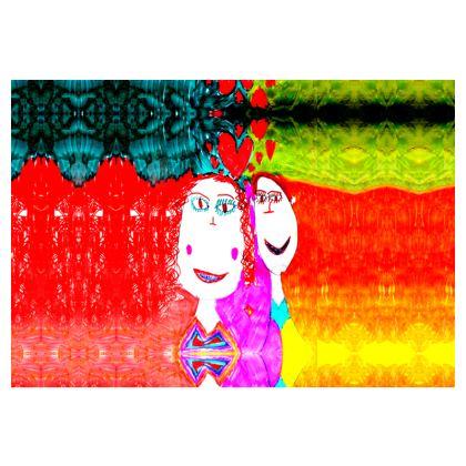 Pop Art Kids Love by Elisavet Occasionl Chair
