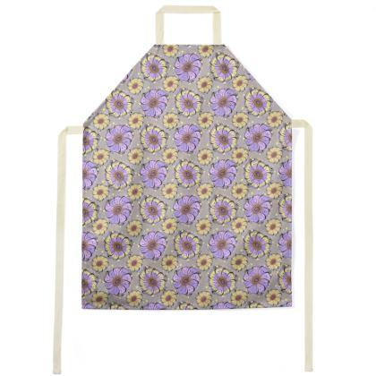 Apron - Lilac Anemones