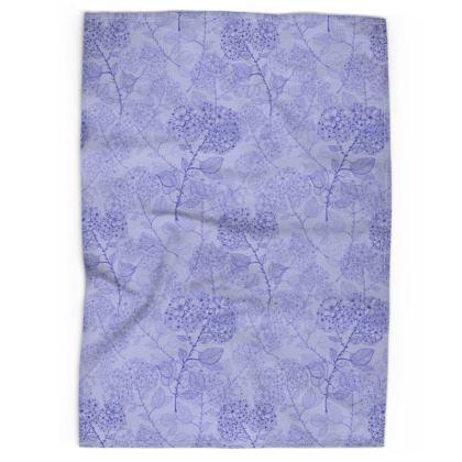 Tea Towel - Blue Milflor