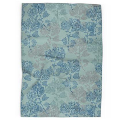 Tea Towel - Teal Milflor