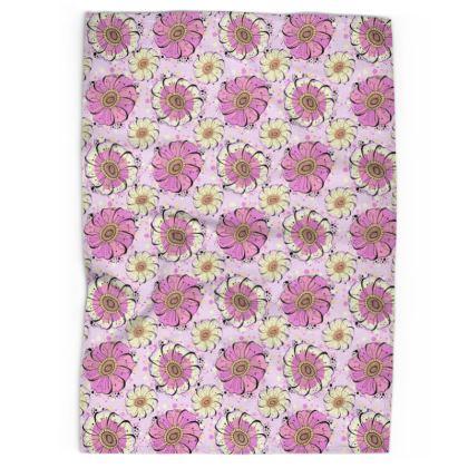 Tea Towel - Anemones