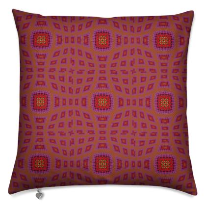 Cushion Homage to Vasarely
