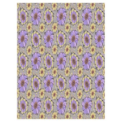 Small Tray - 27x20cm - Lilac Anemones