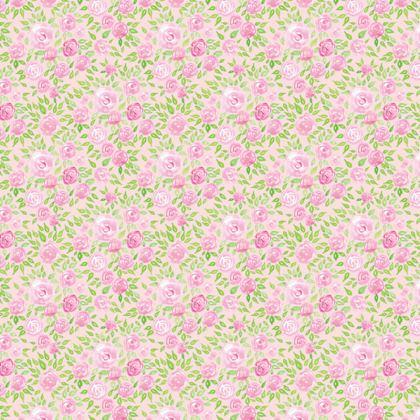 Rose in Eden All Over T-Shirt