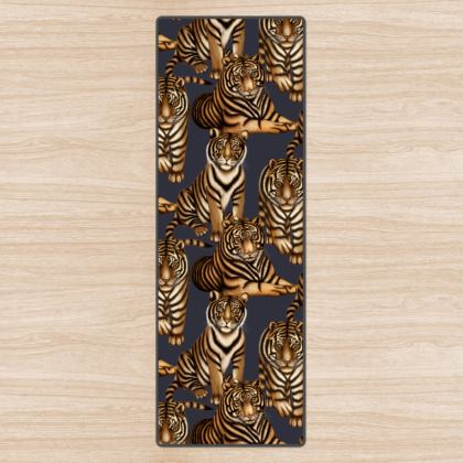 Tiger Yoga Mat
