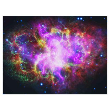 Nebula Galaxy Design Dog Bed / Pet Cushion