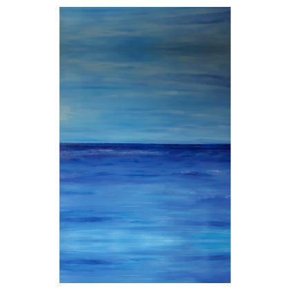 Serene Ocean Art Quilt