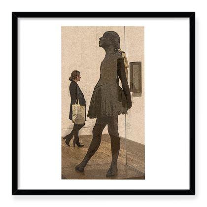 Framed Art Print Art reflecting life