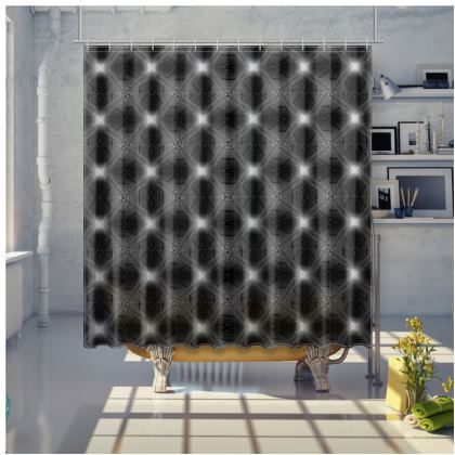 Shower curtain Pulsars